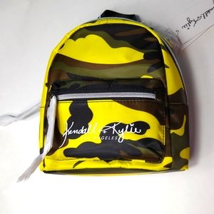 New Kendall + Kylie Mini Camo Backpack